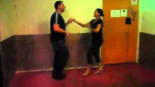 LA Salsa steps lesson in Israel