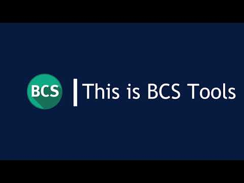 This is BCS Tools