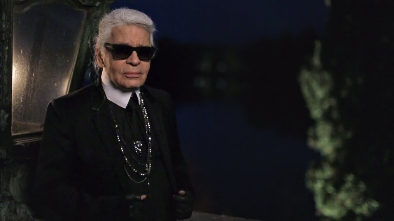 Karl Lagerfeld's Interview - Métiers d'Art 2014/15 Paris-Salzburg CHANEL show