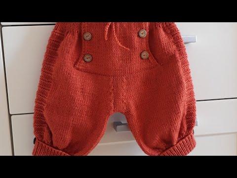 ÇINAR Erkek Bebek Pantolonu ,golf pantolon   #handmade #elörgüsü #crochet #pantolon