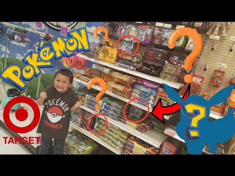 Searching and Finding RARE HIDDEN MYSTERY POKEMON CARDS at Target Store! ULTIMATE COLLECTION BOXES!