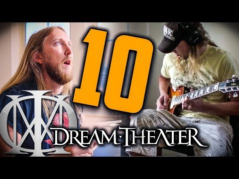 10 YEARS BACK - Dream Theater Lines in the Sand Solo