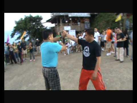 Eskrima Demo at Zipline Doce Pares Cebu