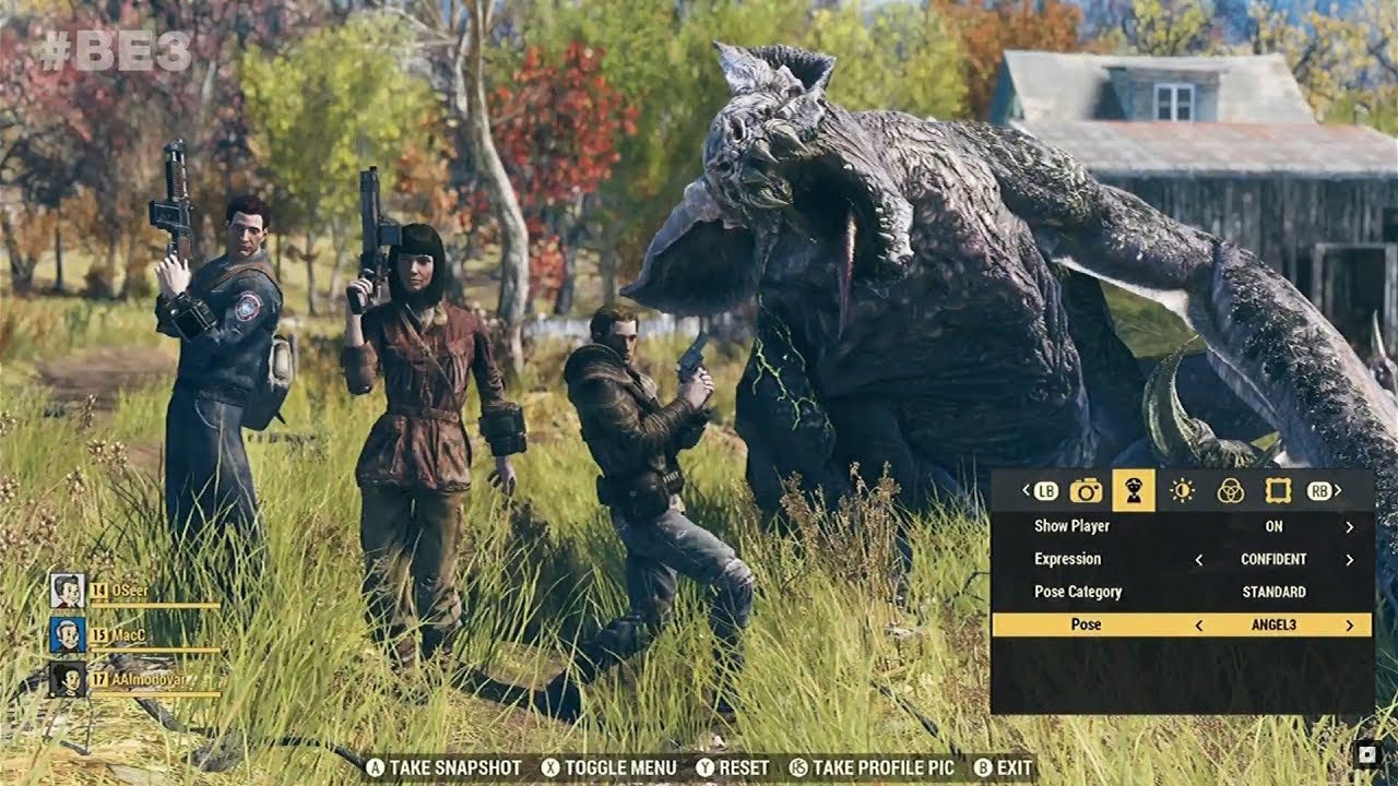 Fallout 76 Full E3 2018 Gameplay Presentation