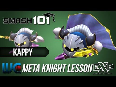Smash 101 PM 3.02 Character Lesson - Kappy (Meta Knight)