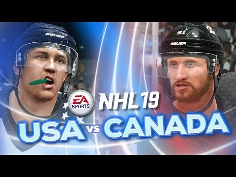 USA Vs Canada In NHL 19