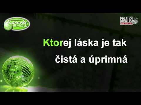 Vyznanie mame (Karaoke)