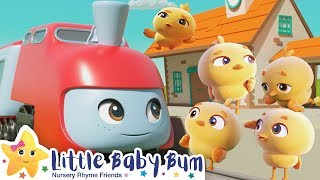 Five Little Ducks Song + More Nursery Rhymes & Kids Songs - Little Baby Bum
