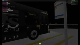 ROBLOX Buses: MiWay 0816 Departs City Centre Terminal