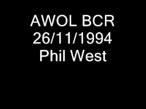 AWOL BCR 26.11.1994 Phil West.