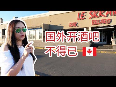 加拿大66集:移民加拿大,为什么我选择了开酒吧