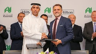 Al Habtoor Group and Hilton; A New Partnership at Al Habtoor City (2min)