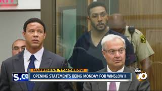 Opening statements in the case against Kellen Winslow II are set to...