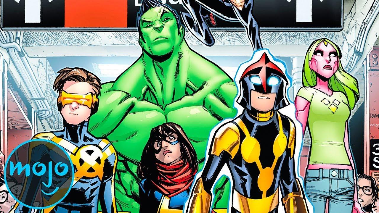 Top 10 Superhero Teams You've Never Heard Of