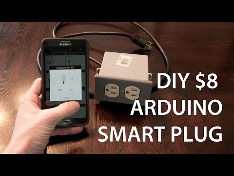 $8 DIY Arduino Smart Outlet Lamp Module - YouTube