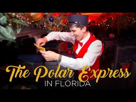 Ride the Polar Express in Florida This Holiday Season