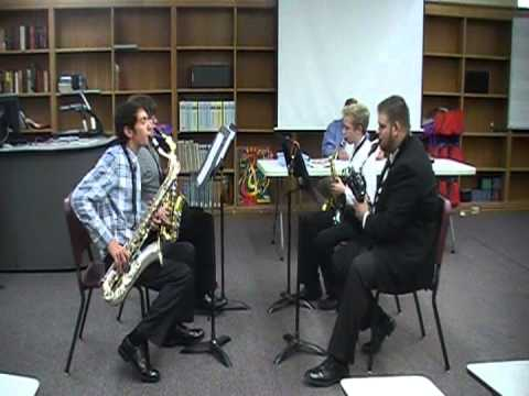 2013 Florida S&E Sax Quartet