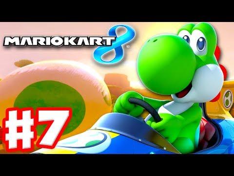 Mario Kart 8 - Gameplay Part 7 - 50cc Leaf Cup (Nintendo Wii U Walkthrough)