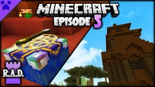 Learning MAGIC In Minecraft! | Roguelike, Adventures & Dungeons Mod Pack (Minecraft Survival) #5
