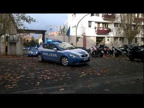 Polizia di stato uscita volanti roma youtube for Polizia di stato roma permesso di soggiorno