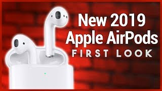 Apple AirPods 2 (2019) First Look - Now With Wireless Charging