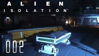 👽 ALIEN ISOLATION [002] [Allein auf der Raumstation] Let's Play Gameplay Deutsch German thumbnail
