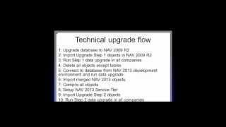 """""""Upgrade to NAV 2013 Best Practices"""" session at Directions 2012 Part 2"""