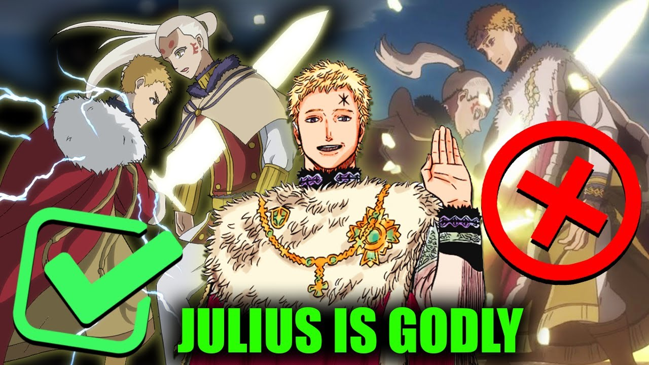 Black Clover S Julius Is Not Human How Strong Was Wizard King Julius Novachrono In His Prime Youtube Noelle awakens in an elf village, located in the neutral. black clover s julius is not human how strong was wizard king julius novachrono in his prime