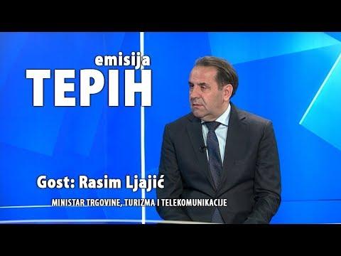 Tepih: Rasim Ljajić, ministar trgovine, turizma i telekomunikacije  (25. januar 2018.)
