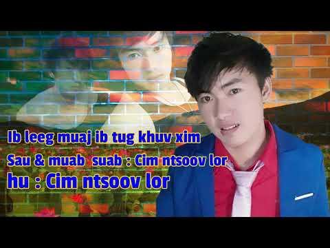 """ib leeg muaj ib tug khuv xim (yuav tawm sai22  2019 no by """"Cim mtsoov lor """") thumbnail"""
