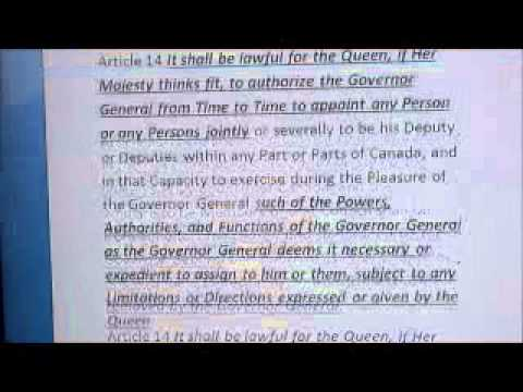 "Defacto or De Jure Her Majesty""s kingdom"