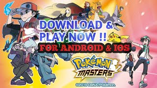 Download lagu Tutorial Download And Play Pokemon Master Play with Vpn newest game for Android/ios