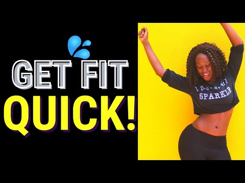 Quick 10 minute dance workout for busy women | Get fit ANYWHERE