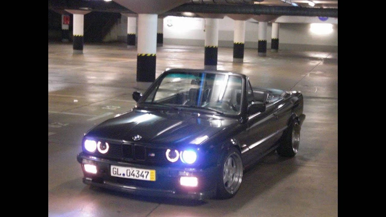 bmw e30 325 cabrio m technik 1 youtube. Black Bedroom Furniture Sets. Home Design Ideas