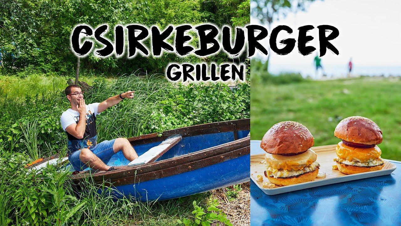Nyári csirkeburger GRILLEN