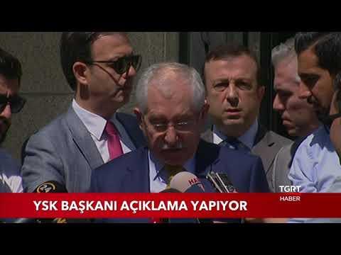 YSK Başkanı Sadi Güven İstanbul Seçim Sonuçlarını Açıkladı