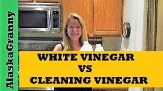 Cleaning Vinegar or White Vinegar What's the Difference