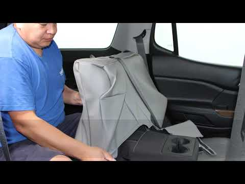 GMC Acadia Leather Seat Cover Installation - CalTrend