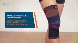 Support de genou avec stabilisateurs latéraux Rodisil®