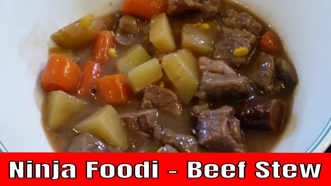 Ninja Foodi And The Best Beef Stew Youtube Beef Stew Beef Stew Meat Recipes