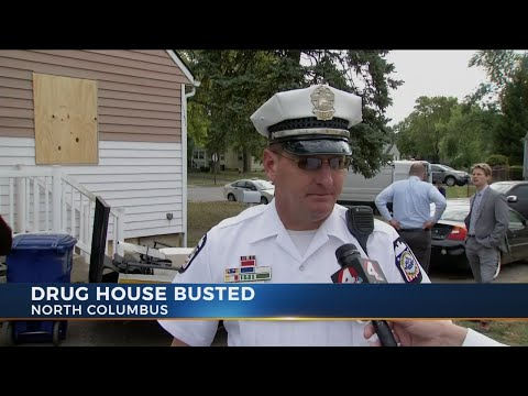 North Columbus Drug House Busted