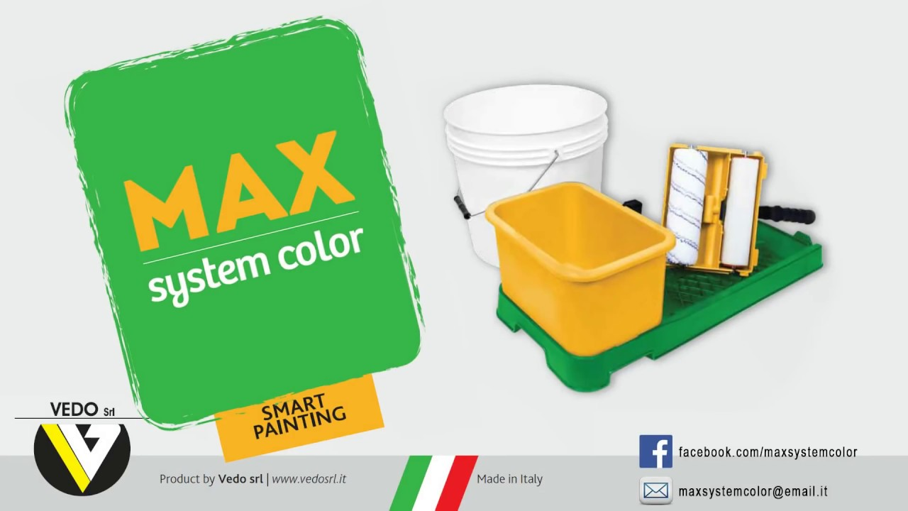 Max System Color - Tinteggiare pareti fai da te, angoli e soffitti in modo fa...