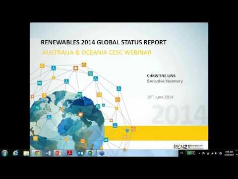 REN21 2014 Global Status Report: Australia/Oceania