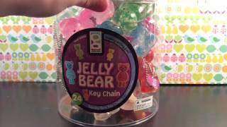 FULL CASE OF JELLY BEAR KEYCHAINS!!!!!!!!!!!!!!