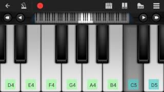 Bairavaa Theme | Varlam Varlam Vaa | Piano Cover | Perfect Piano apk