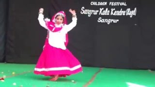 muskaan kathuria haryanvi folk dance