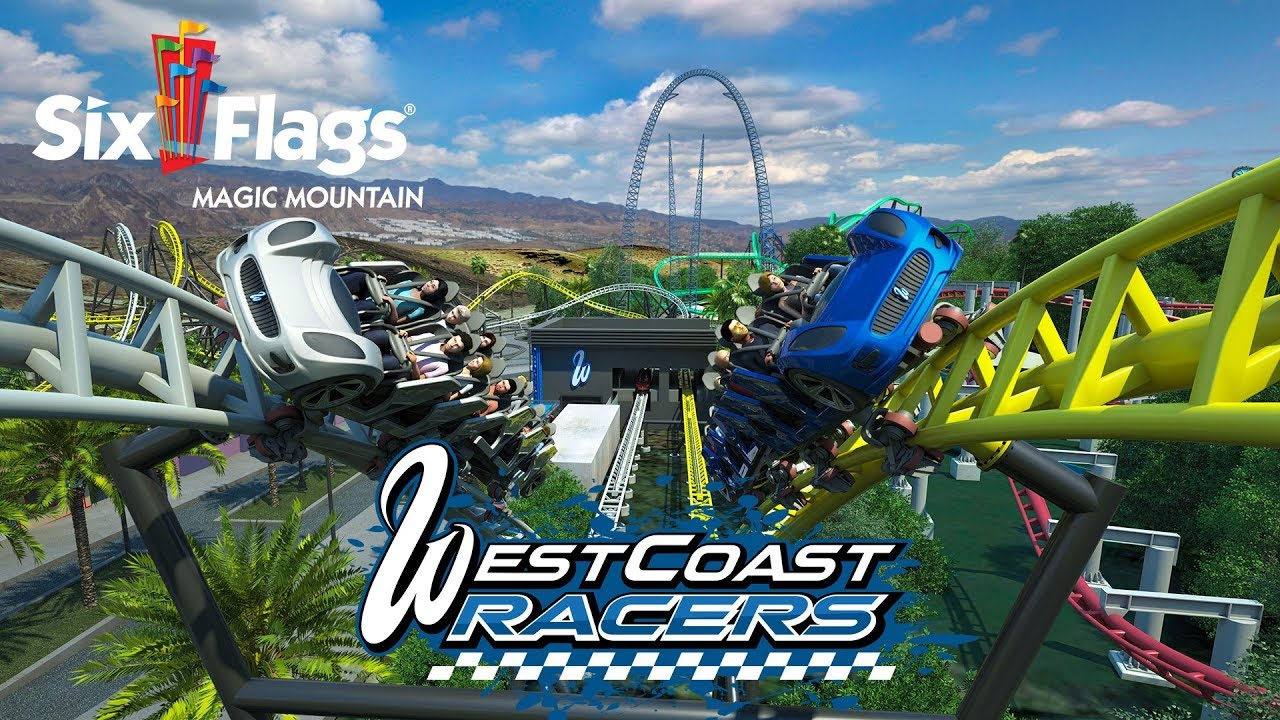 West Coast Customs Announces Six Flags Rollercoaster! - West