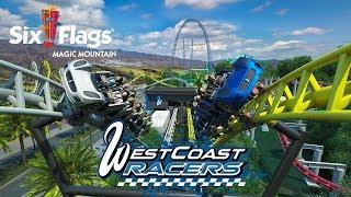 West Coast Racers Roller Coaster Six Flags Magic Mountain 2019 - West Coast Customs