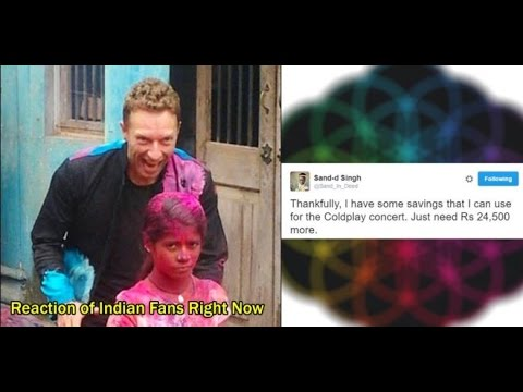 Coldplay's India Concert Tickets Priced At 25k to 5 lakh & the Internet Is Losing It