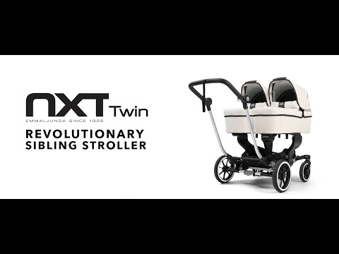 Emmaljunga NXT Twin Stroller • Demonstration Video (FULL)